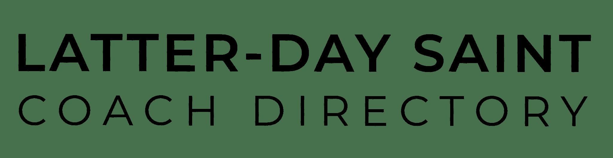 Latter-day Saint Life Coach Directory